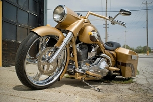 """ROAD KING NACELLE FOR 23"""" RAKE WITH TRI-GLIDE TREES"""
