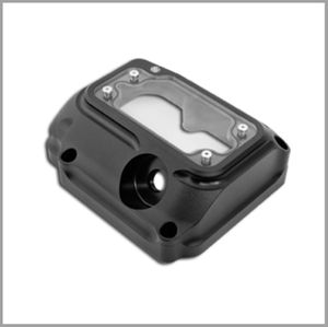 RSD Clarity 5 Speed Transmission Top Cover - Black Ops