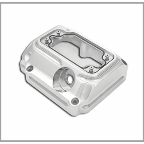 RSD Clarity 5 Speed Transmission Top Cover - Chrome