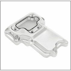 RSD Clarity 6 Speed Transmission Top Cover - Chrome