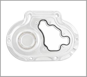 RSD Clarity Clutch Cover - Chrome