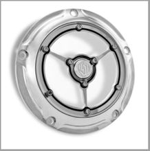 RSD Clarity Derby Cover - Chrome