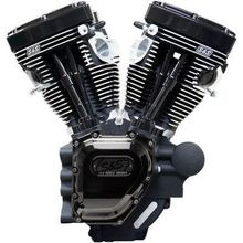 S & S Cycle T143 Long-Block Engine- Black