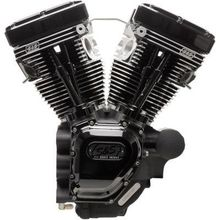 S&S Cycles T111 Long Block Engine- Black