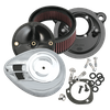 S&S® Stealth Air Cleaner Kit With Air Stream Teardrop Cover