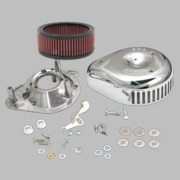 "S&S® Teardrop/Slasher Air Cleaner Kit For S&S® Super E & G Carburetors For S&S® 4-1/8"" Bore V and T-Series Engines"