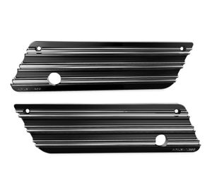 Saddlebag Latch Covers Black