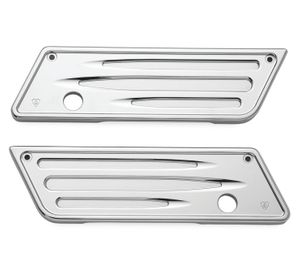 Saddlebag Latch Covers Chrome