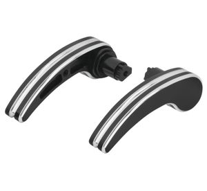 Saddlebag Latch Levers  Black