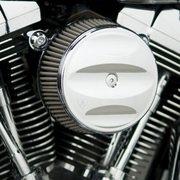 Scalloped Stage 1 Big Sucker™ Cover Kits - Chrome