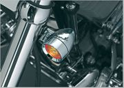 Silver Bullet LED Lights with Fork Mounts