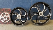 Sinister Black Cut DRIFTER Wheel Set