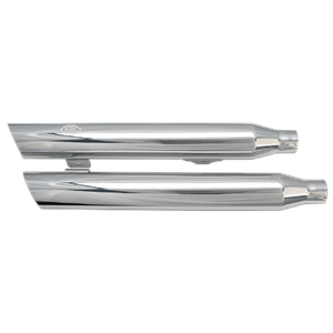 Slash-Cut Muffler Kit - Chrome