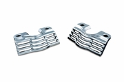 Slotted Head Bolt Covers - Chrome