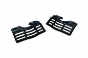 Slotted Head Bolt Covers - Gloss Black