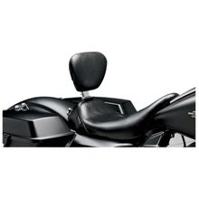 Bare Bones- Smooth Solo Seat w/ Rider Backrest