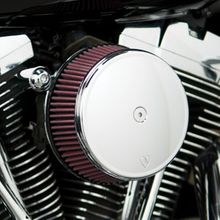 Arlen Ness Stage 1 Big Sucker Air Filter Kit w/ Smooth Chrome Cover-M8