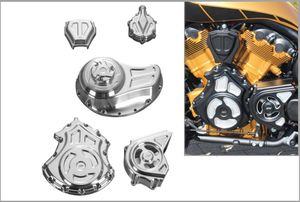 Solid Engine and Transmission Covers - Complete Kit