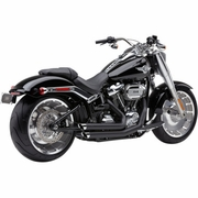 Cobra Speedster Slashdown Exhaust Black w/ Black Heat Shields