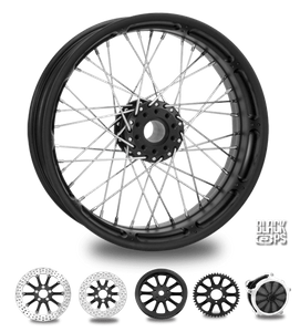 Spoked Wire Black Ops