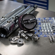Stage II Kit with 510G Cams and Grand National mufflers for 1999-06 Touring models