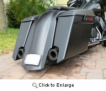 Stretched Saddlebags