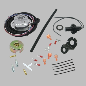"Super Stock® Ignition Kit for Shovel Head 93"" and Pan Head 93"" 1966-'84"