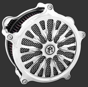 ROULETTE Chrome Air Cleaner