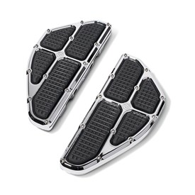 Traction Passenger Floorboard - Chrome