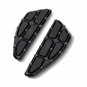 Traction Rider Floorboard - Black- Ops