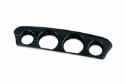 Tri-Line Gauge Trim- Black