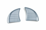 Tri-Line Inner Fairing Cover Plates- Chrome