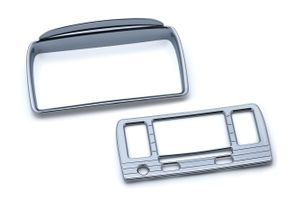 Tri-Line Stereo Trim for Road Glide with Boom! Box 4.3 - Chrome