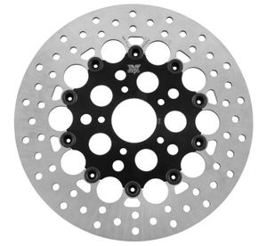 Twin Power Rotors Floating Hole Black