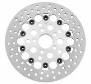 Twin Power Rotors Floating Hole Silver