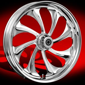 Twisted Chrome Wheel