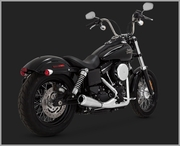 Vance & Hines 2-Into-1 Upsweep - Chrome