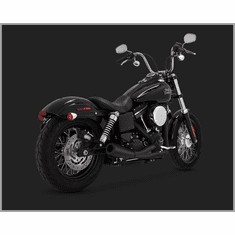 Vance & Hines 2-Into1 Upsweep - Black