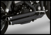 Vance & Hines Big Shots Staggered-Black