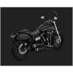 Vance & Hines Hi-Output Grenades - Black/Nickle