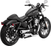 Vance & Hines Hi-Output Grenades Exhaust in Chrome