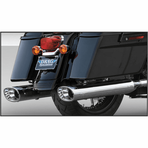 Vance & Hines Monster Ovals  (Chrome Tips)