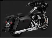 Vance & Hines Oversized 450 Destroyer Slip-Ons Black Tip