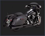 Vance & Hines Oversized 450 TITAN Slip-On's- Black