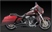 Vance & Hines Super Radius Touring - Black