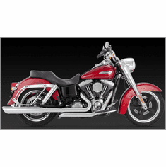 Vance & Hines Switchback Duals & Twin Slash Slip-ons