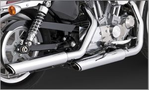 "Vance & Hines Twin Slash 3"" Slip-ons"