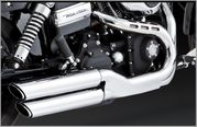 Vance & Hines 3in Twin Slash Slip-on's