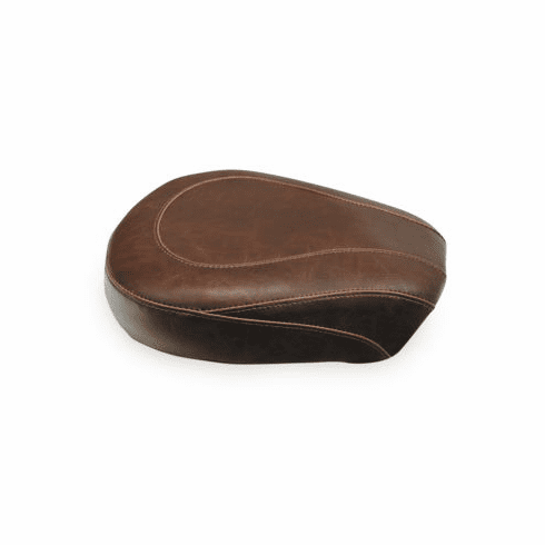 Wide Tripper Brown Passenger Seat - Smooth