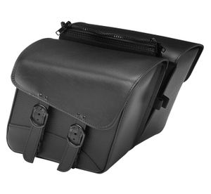 Willie & Max Black Jack Compact Slant Saddlebags